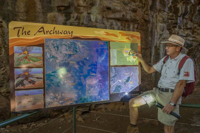 Atherton Tablelands Undara Lava Tubes Archway