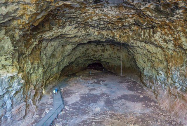 Atherton Tablelands Undara Lava Tubes Hoehle