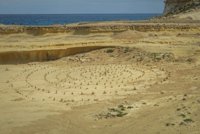 Gozo Malta Victoria Salzpfannen Xwieni Bay