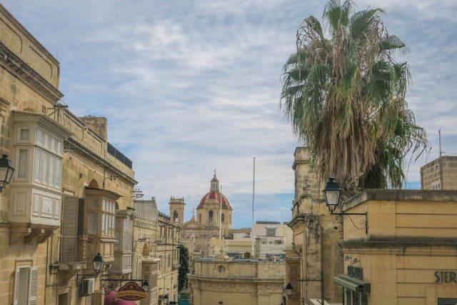 Gozo Malta Victoria Innenstadt