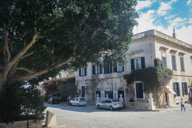 Gozo Malta Victoria Zitadelle innen