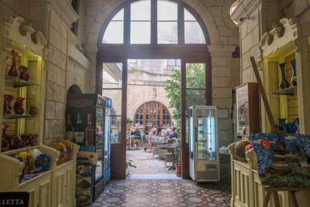 Gozo Malta Victoria Cafe