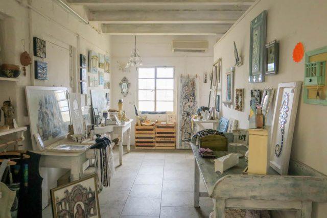 Gozo Malta Victoria Craftsvillage Einrichtung