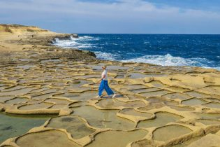 Gozo Malta Victoria Salzpfannen