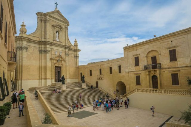Gozo Malta Victoria Kathedrale