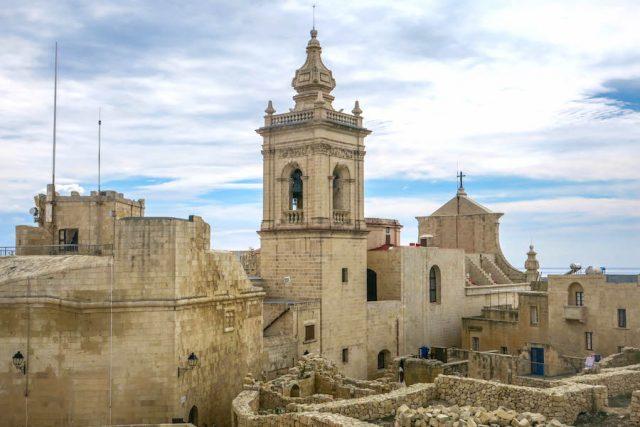 Gozo Malta Victoria Zitadelle Aussicht