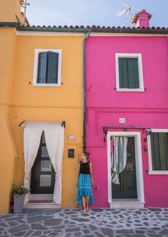Italien Venedig Urlaub Burano Tagesausflug