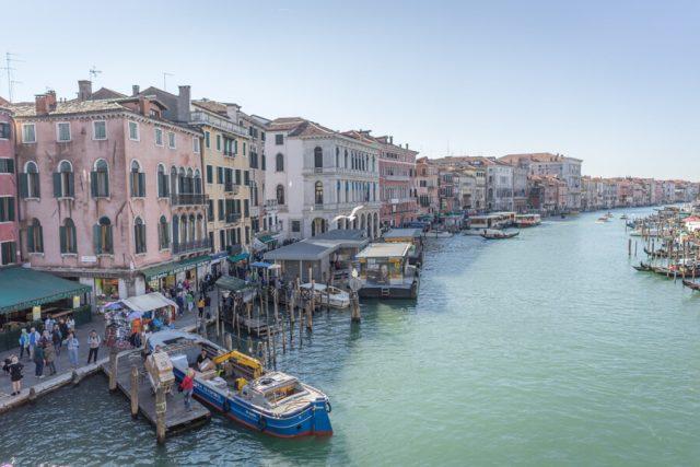 Italien Venedig Urlaub Canal Grande