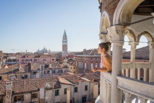 Italien Venedig Urlaub Contarini del Bovolo