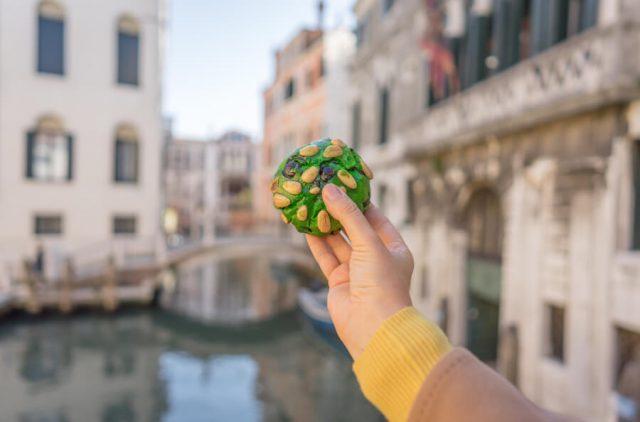 Italien Venedig Urlaub Cookie Pistazie