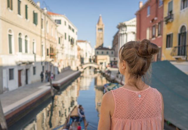 Italien Venedig Urlaub Dorsoduro