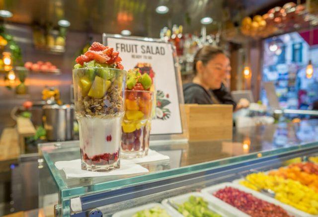 Italien Venedig Urlaub Fruiteria Cafe Smoothie