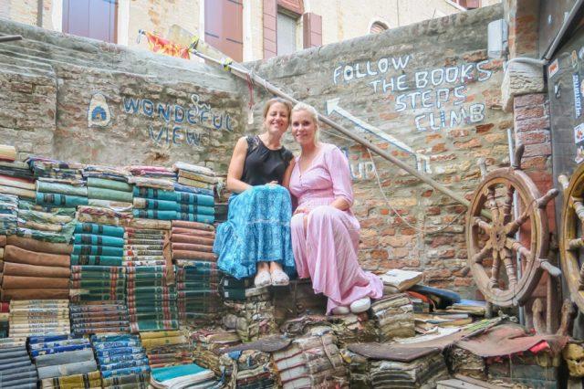 Italien Venedig Urlaub Libreria Acqua Alta-3