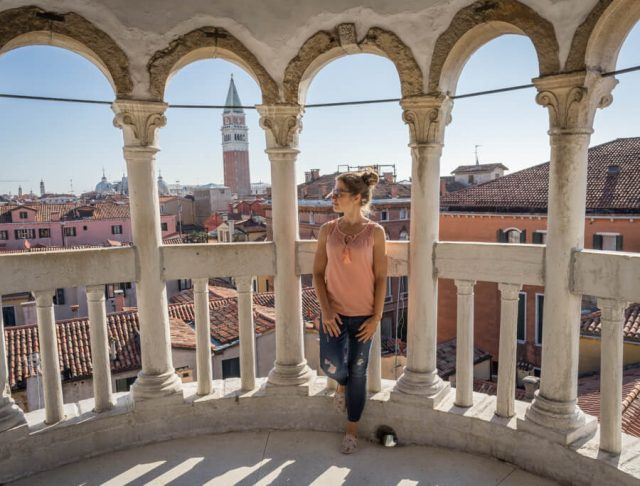 Italien Venedig Urlaub Palazzo Contarini del Bovolo