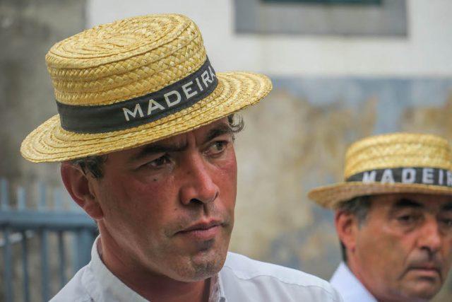 Madeira Urlaub Funchal Porto Santo Korbschlittenfahrt Portrait