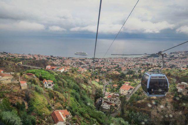 Madeira Urlaub Funchal Porto Santo Seilbahn