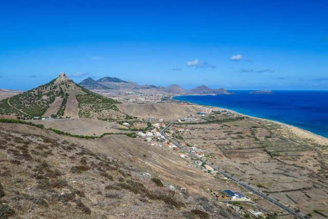 Madeira Urlaub Funchal Porto Santo Aussicht Vulkane