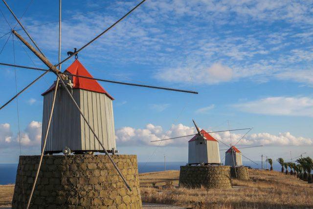 Madeira Urlaub Funchal Porto Santo Lazermar Jeeptour Windmühlen