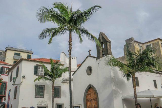 Madeira Urlaub Funchal Altstadt
