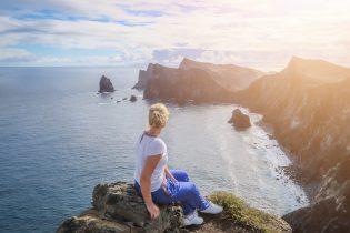 Madeira Urlaub Funchal Porto Santo Klippen Aussicht