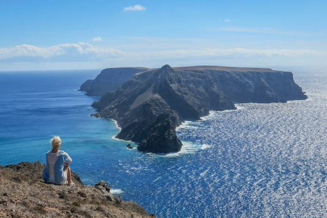 Madeira Urlaub Funchal Porto Santo Aussicht Meer