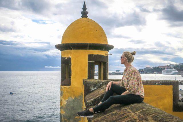 Madeira Urlaub Funchal Festung