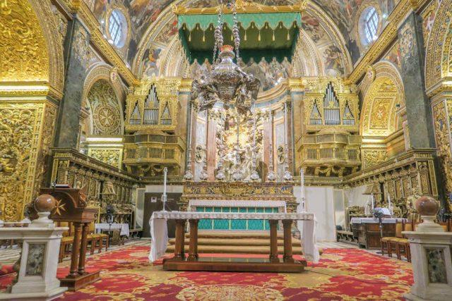 Malta Sehenswuerdigkeiten Malta Urlaub St. Johns Kirche Valetta