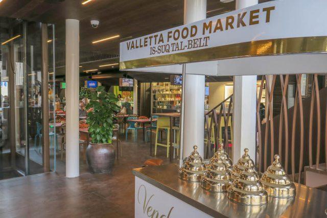 Malta Sehenswuerdigkeiten Malta Urlaub Valetta Markthalle