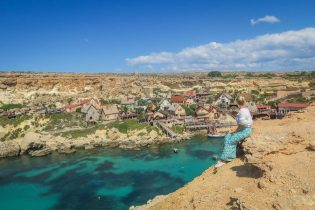 Malta Sehenswuerdigkeiten Malta Urlaub Popeyes Village