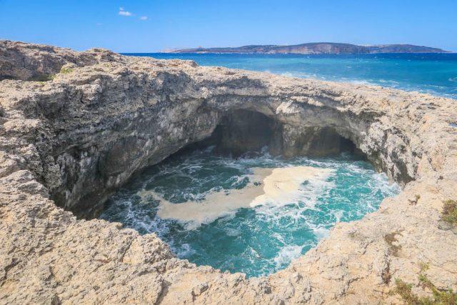 Malta Sehenswuerdigkeiten Malta Urlaub Devil's Hole