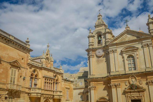 Malta Sehenswuerdigkeiten Malta Urlaub Mdina Kirche