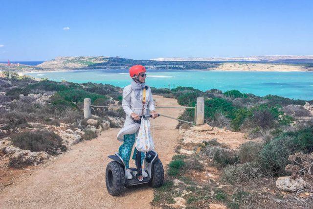 Malta Sehenswuerdigkeiten Malta Urlaub Segway Tour