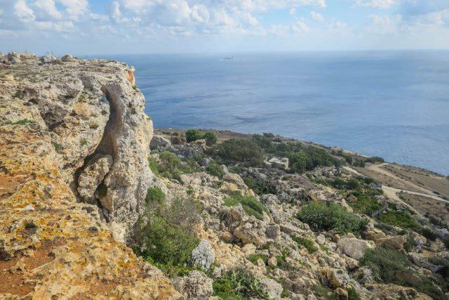 Malta Sehenswuerdigkeiten Malta Urlaub Dingli Cliffs