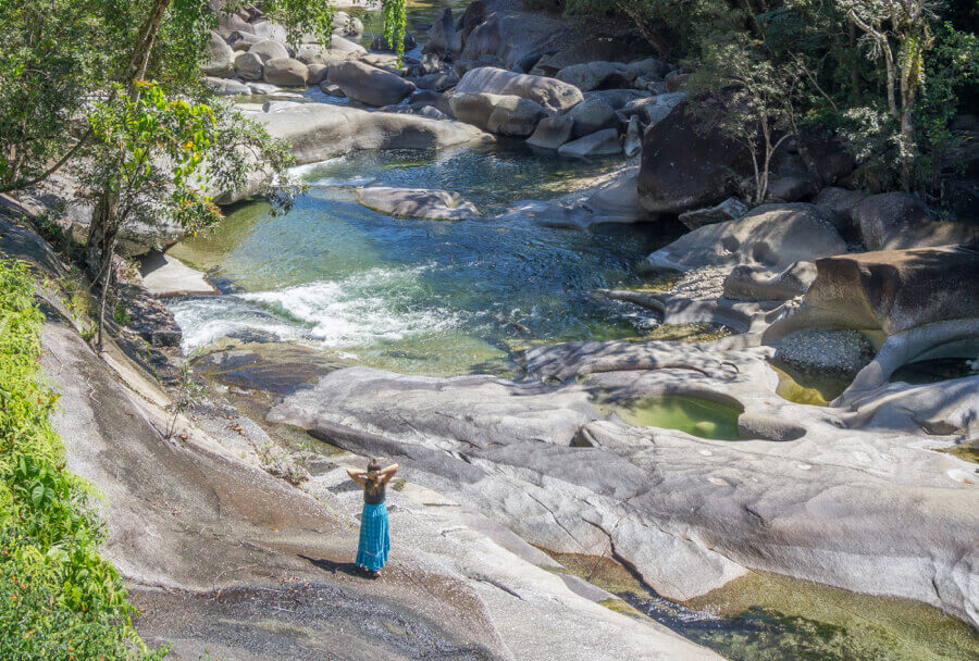 Mission Beach Cairns Australien Babinda Boulders Pools