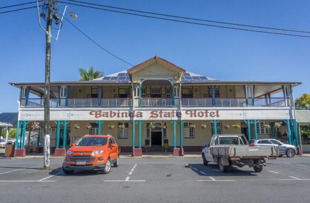 Mission Beach Cairns Australien Babinda State Hotel