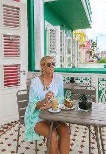 Curacao Urlaub Karibik niederlaendische Antillen Beans Café Pietermaai