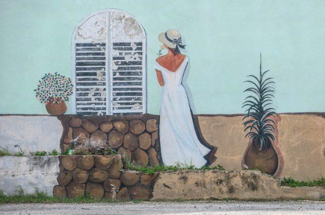 Curacao Urlaub Karibik niederlaendische Antillen Willemstad Skaloo Streetart