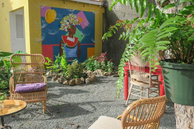 Curacao Urlaub Karibik niederlaendische Antillen Willemstad Café Fleury