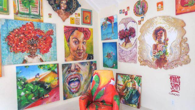 Curacao Urlaub Karibik niederlaendische Antillen Willemstad Galerie