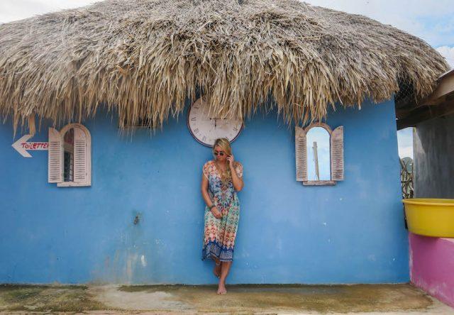 Curacao Urlaub Karibik niederlaendische Antillen Shelter Rock Paradise