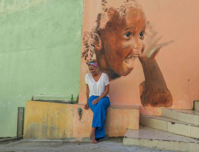 Curacao Urlaub Karibik niederlaendische Antillen Willemstad Otrobanda Streetart