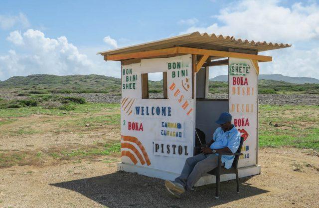 Curacao Urlaub Karibik niederlaendische Antillen Shete Boka Nationalpark Boka Pistol
