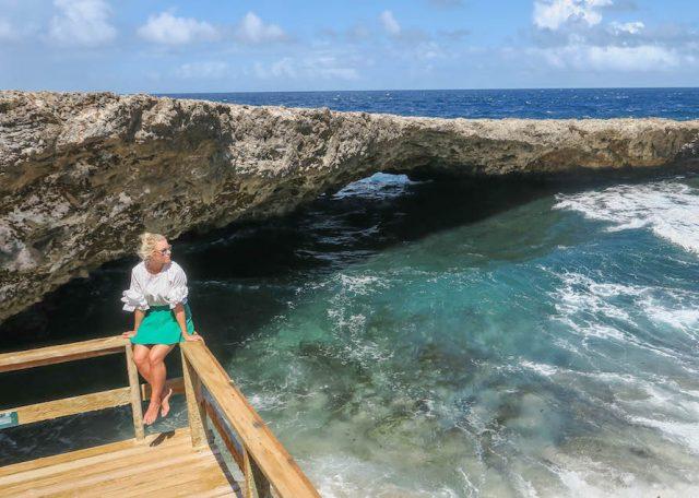 Curacao Urlaub Karibik niederlaendische Antillen Shete Boka Nationalpark Boka Wandomi