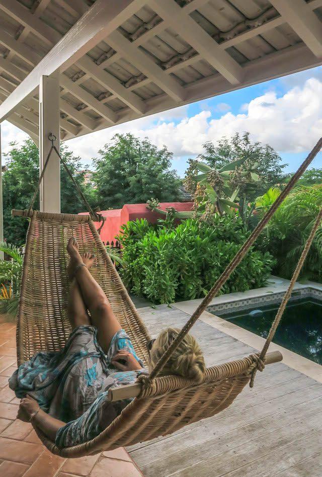 Curacao Urlaub Karibik niederlaendische Antillen Plantation Jan Thiel Lodge