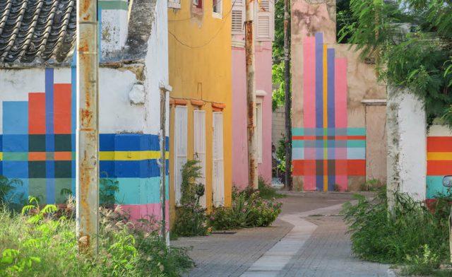 Curacao Urlaub Karibik niederlaendische Antillen Willemstad Otrobanda Favela Painters