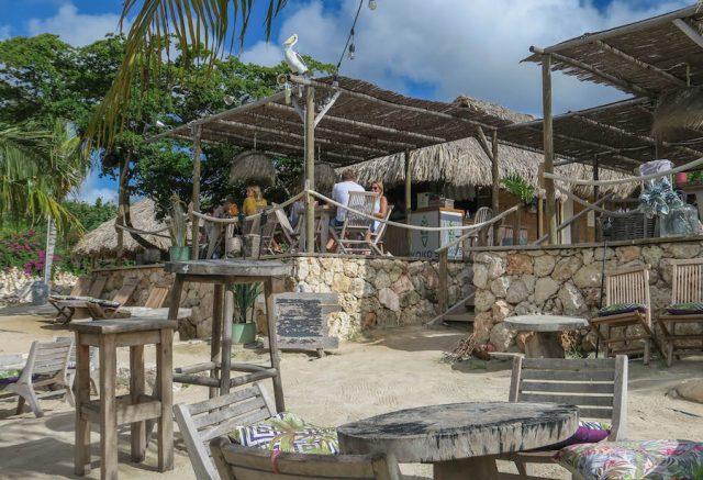 Curacao Urlaub Karibik niederlaendische Antillen Kokos Jan Thiel Beach