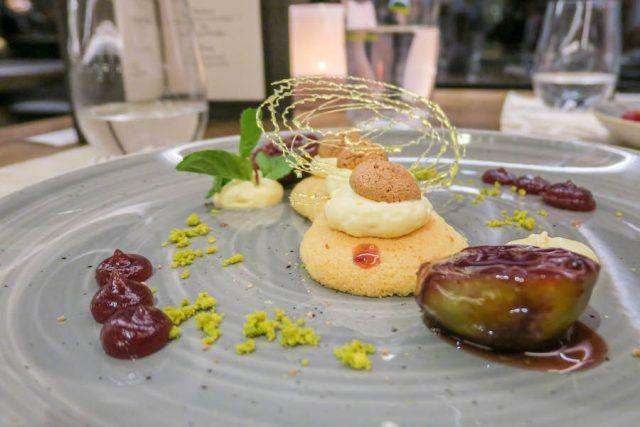 Suedtirol Urlaub Vinschgau Das Gerstl Abendessen Amarettotiramisu