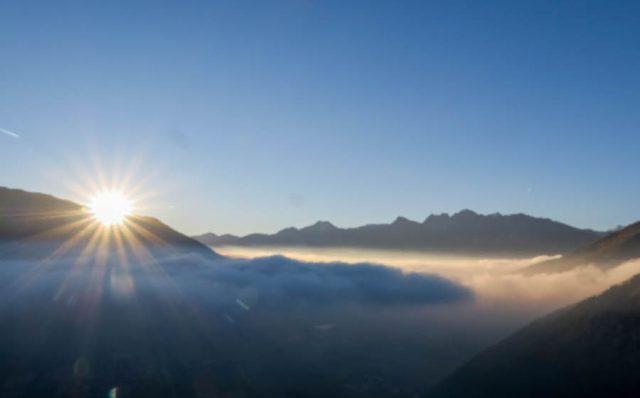 Suedtirol Urlaub Vinschgau Das Gerstl Sonnenaufgang