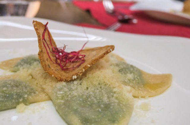 Suedtirol Urlaub Vinschgau Das Gerstl Abendessen Schlutzkrapfen