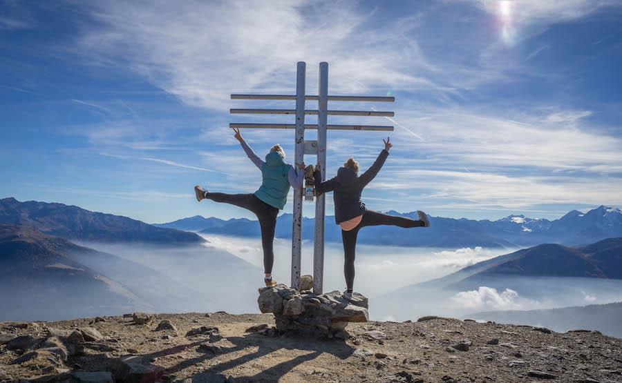 Suedtirol Urlaub Vinschgau Watles Gipfel